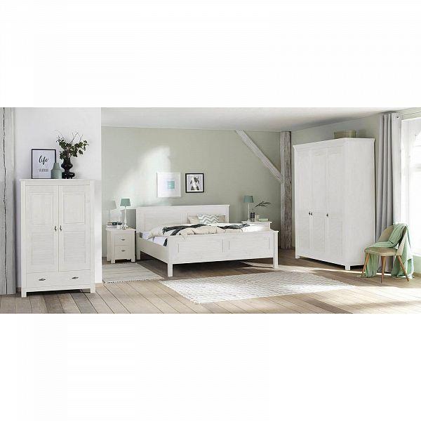 Кровать рауна 160 бел 3