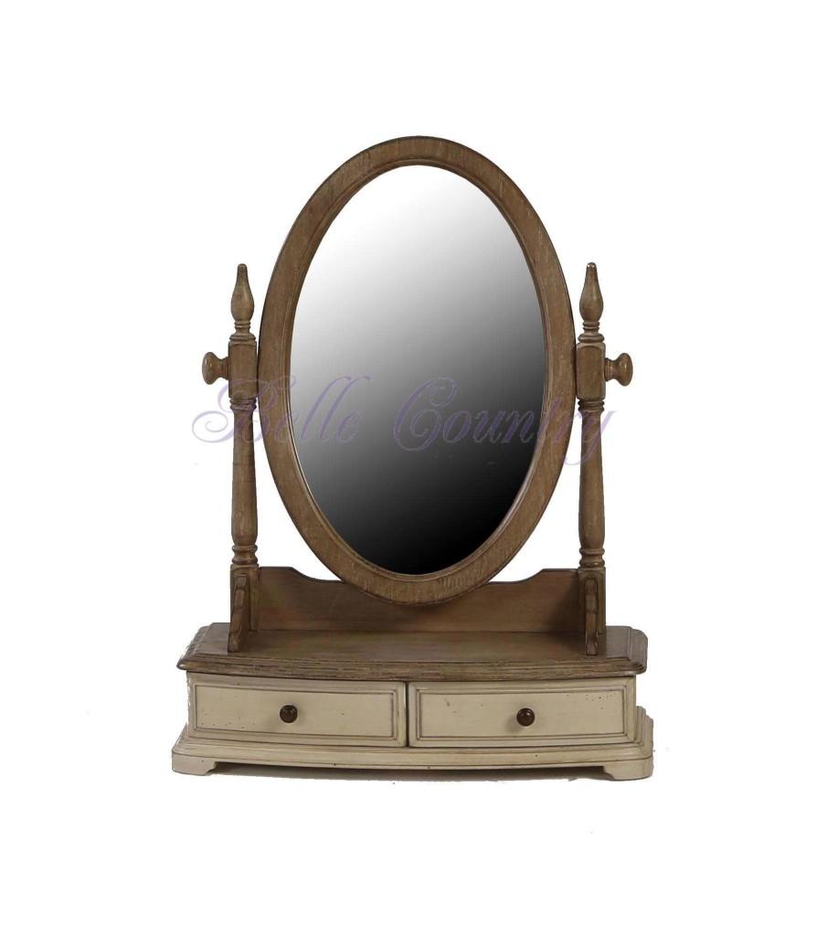 H809-Зеркало-49x20x64-Цвет-D-68-Grey-Серо-бежевый-собран
