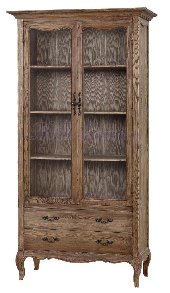KFD007-3-Книжный-шкаф-110x50x210-цвет-natural-oak-собран