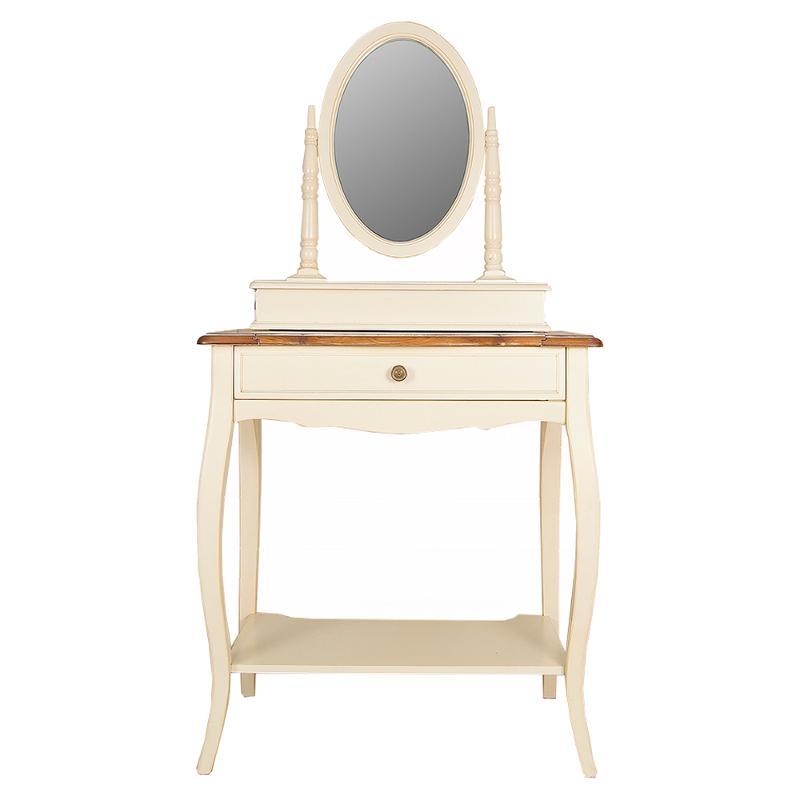 Туалетный столик с овальным зеркалом  ST9321 (thumb36198)