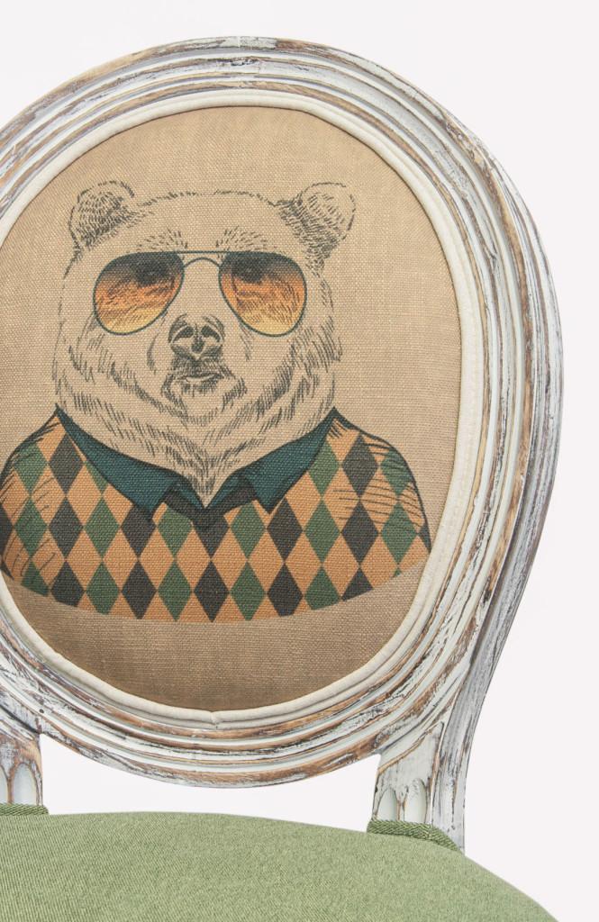 Стул Volker green bear (attach4 46144)