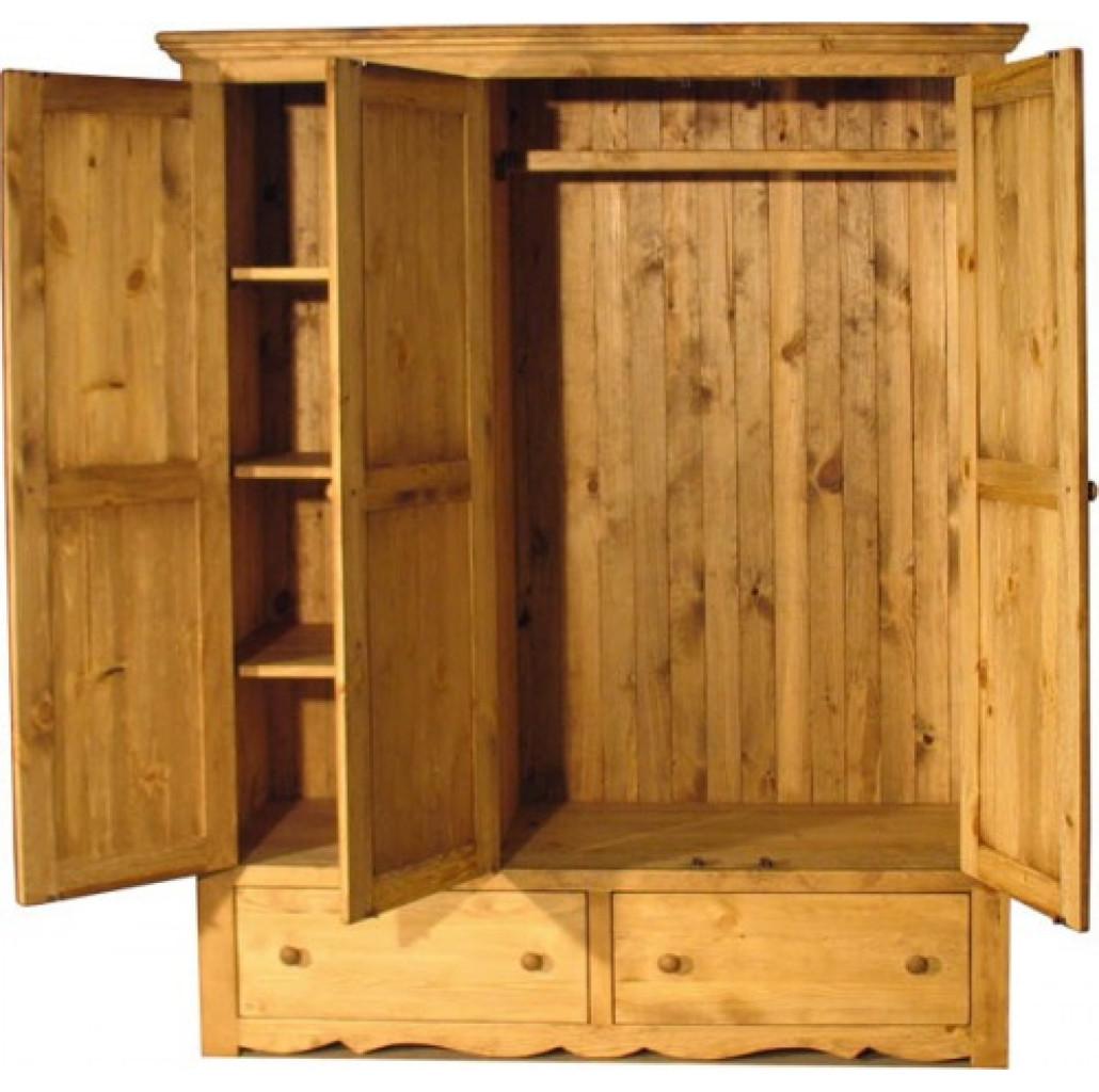ARMOIR 3P 2T открытый шкаф