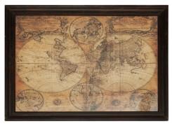 "Настенный декор ""Карта Мира"" М-9678 (thumb36405)"