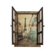 """Настенный декор """"Окно в Париж"""" М-9679 (attach1 36400)"""
