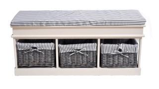 Обувница SH-82301 c ящиком и 3мя корзинами (attach1 36892)